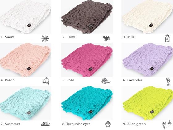 ecomoco Goo Goo towel ket-color